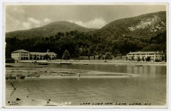 Vintage Postcards Of Lake Lure And Chimney Rock Living