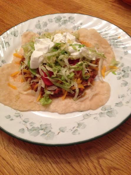 Cherokee Indian Taco Recipe Blue Ridge Mountain Life