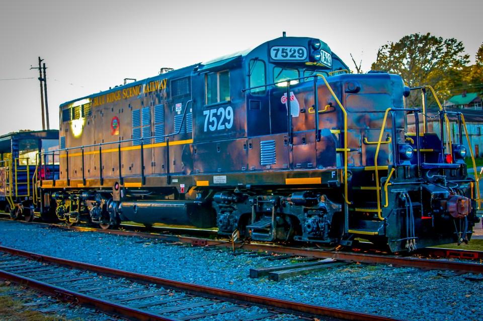 Blue Ridge Scenic Railway in Blue Ridge GA