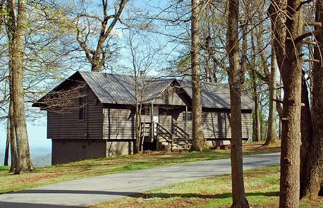 Black Rock Mountain State Park Cabin Rental via GAStateParks.org