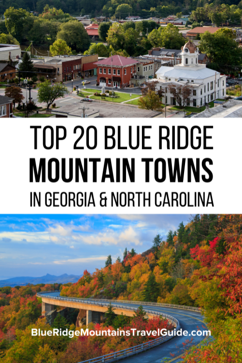 Top 20 Blue Ridge Mountain Towns in GA & NC with the best things to do in each. | blue ridge mountain towns | north georgia mountains | blue ridge mountains GA | blue ridge mountains georgia | blue ridge mountains nc | blue ridge mountains north carolina | georgia mountains | north carolina mountains | things to do in the blue ridge mountains | blue ridge region | Blue Ridge GA | Blairsville GA | Ellijay GA | Suches GA | Blowing Rock North Carolina | Brevard NC | Cashiers NC