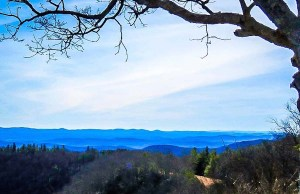 Blue Ridges of Mountains in Doughton Park, NC