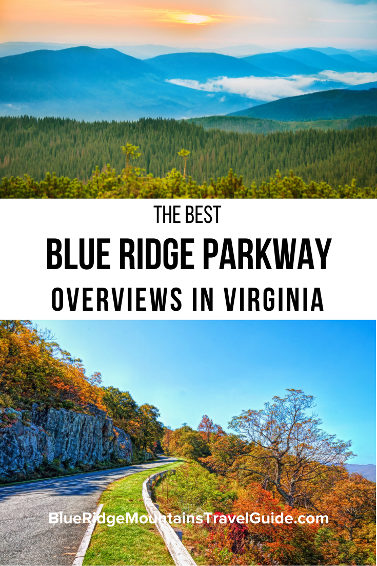 Blue Ridge Parkway Overlooks in VA