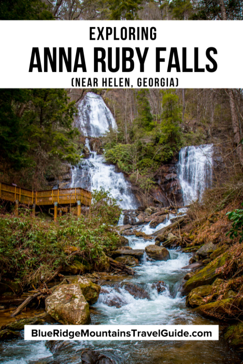Exploring Anna Ruby Falls Near Helen, GA. - one of the best waterfalls in Georgia. Includes Info, History, Trails, and Directions. | north georgia waterfalls | waterfall hikes north georgia falls in north ga | north georgia waterfall |anna ruby falls directions | anna ruby falls hike | ruby falls hike | anna ruby falls cost | anna ruby falls ga | falls in north georgia | north ga. waterfalls | beautiful waterfalls in georgia | waterfalls north georgia | anna ruby falls trail