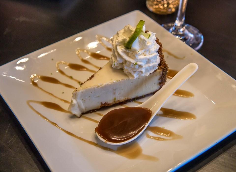 Key Lime Pie Dessert at Mona Lisa's in Blue Ridge, GA