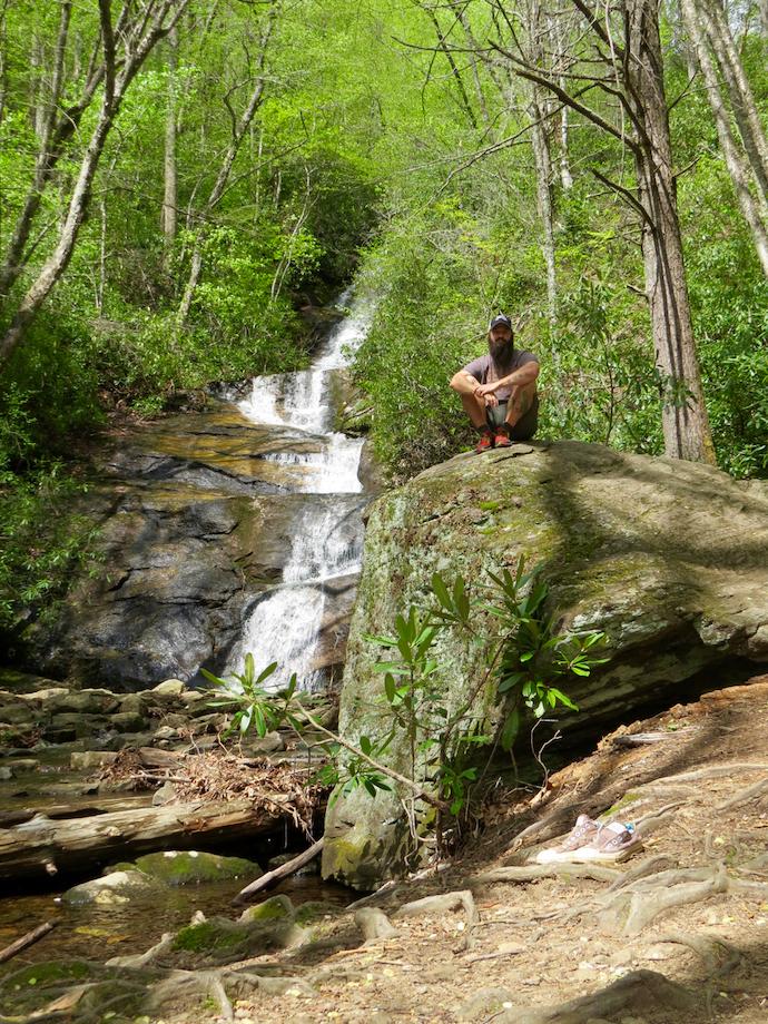 Pisgah National Forest - Hidden Waterfall