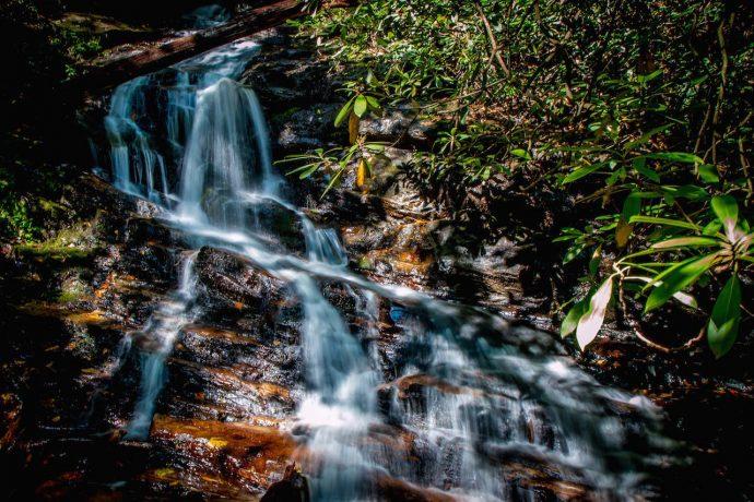 Becky Branch Falls in Clayton GA