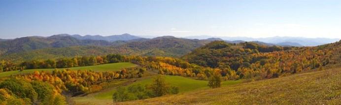 Max Patch Panorama Appalachian Trail