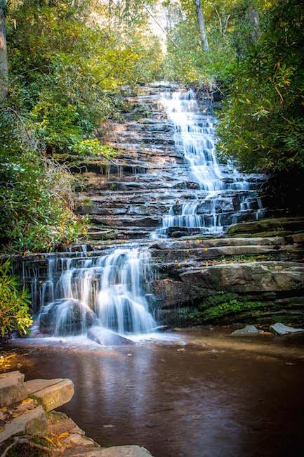 Panther Falls near Lake Rabun, GA