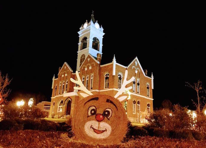 Christmas in Blairsville GA- Christmas on the Square
