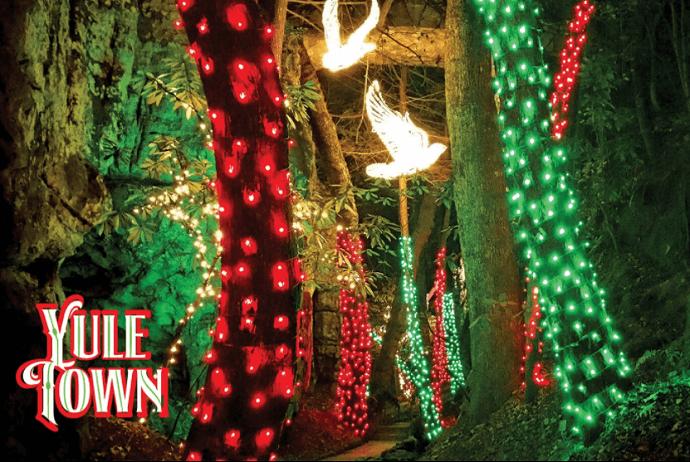 Rock City Christmas Enchanted Garden of Lights