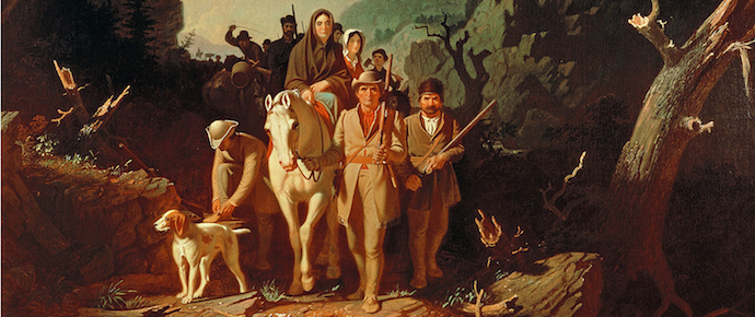 Daniel Boone's 1775 expedition through the Cumberland Gap