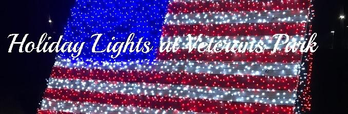 Holiday Lights at Veterans Park in Canton GA