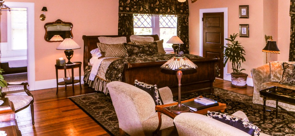 Walnut Room at Asheville bed and breakfast The Black Walnut Inn