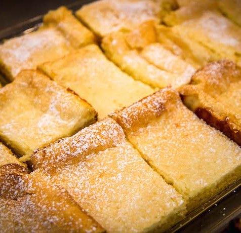 Lemon Squares at Sweet Shoppe Bakery in Blue Ridge GA