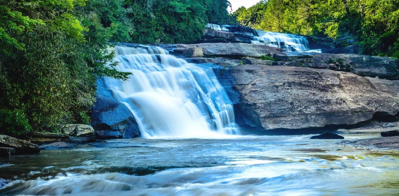 Waterfalls near Asheville NC