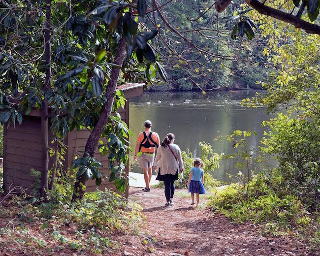 Family Hiking at Chattahoochee Nature Center