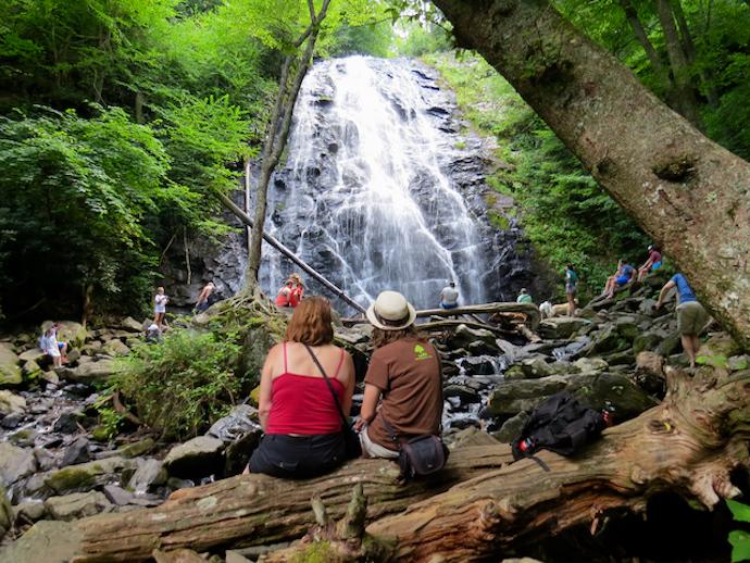 How to Get to Crabtree Falls - Sisters at Crabtree Falls