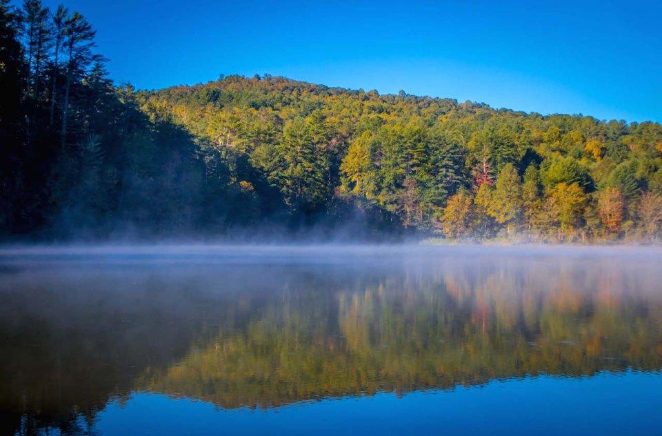 Black Rock Lake at Black Rock Mountain State Park