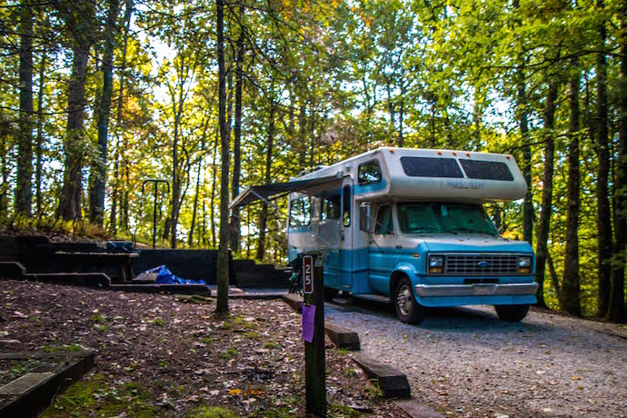 Black Rock Mountain State Park Campgrounds RV