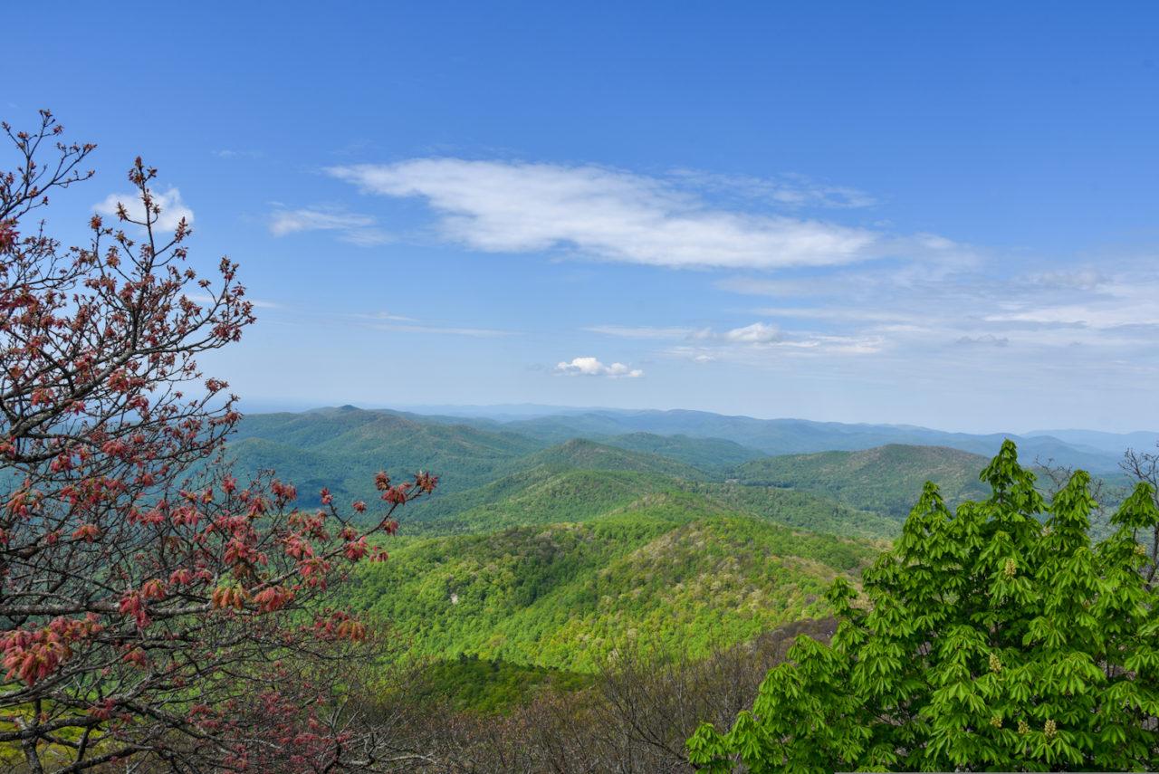 blood mountain overlook