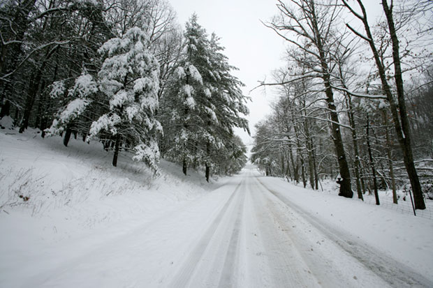 Many roads in Floyd County remain snowbound.