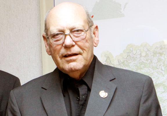 Retiring Little River Supervisor Virgel Allen