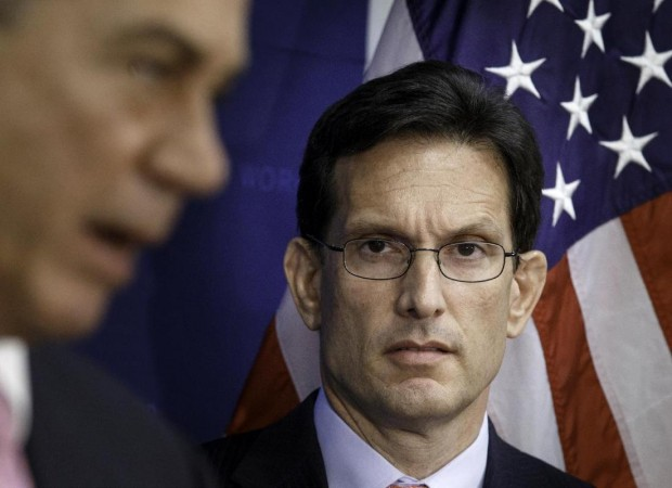 Defeated GOP incumbent Eric Cantor (AP Photo/J. Scott Applewhite)
