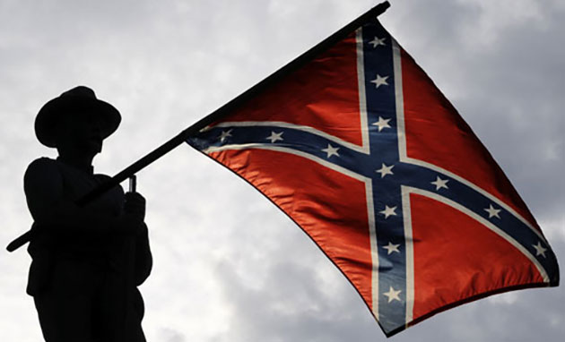 The war is over. Time to put this flag out of our misery.