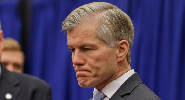 Former Virginia Gov. Bob McDonnell: He took money but said he didn't break the law   (AP Photo/Steve Helber)