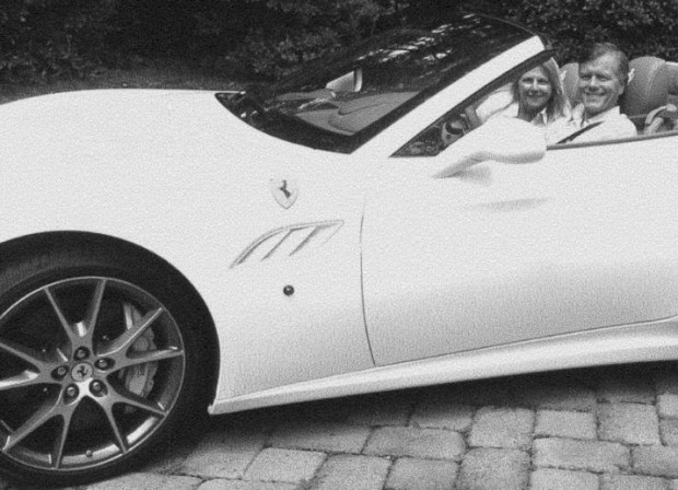 "Gov. Bob McDonnell: Tooling around in the Ferarri with the wife he claims he ""wasn't talking to."""