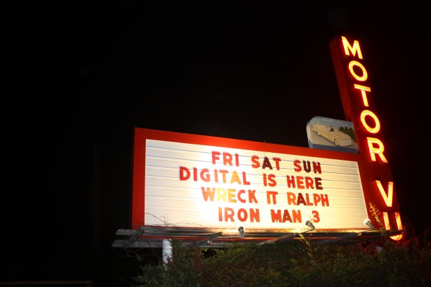 Even the few remaining drive-in theaters are going digital now.