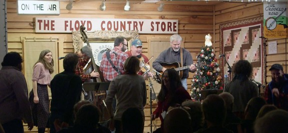 The New Ballard's Branch Bogtrotters close out the show with dancing in the aisles.