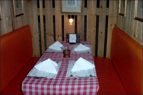 One of the 'private booths'