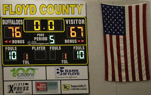 At the end of overtime, the scoreboard told the story