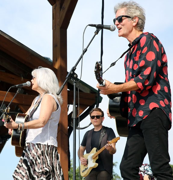Harris and Rodney Crowell