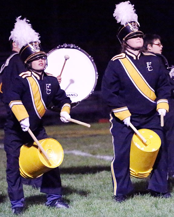 "Band performing ""Riverdance."""