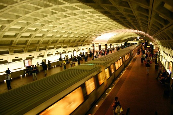 Washington DC's Metro line.