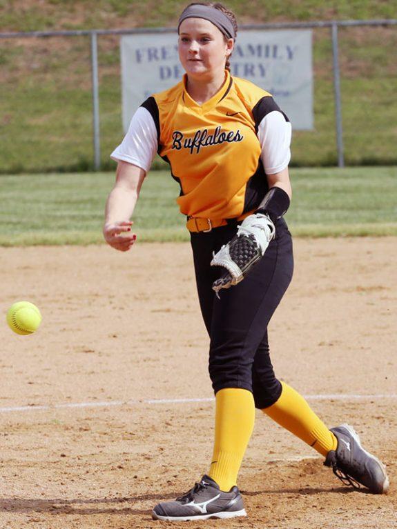 Rebecca Turman: Allowed just one hit.