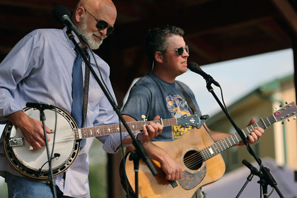 And the veterans: Sammy Shelor and Lonesome River Band.
