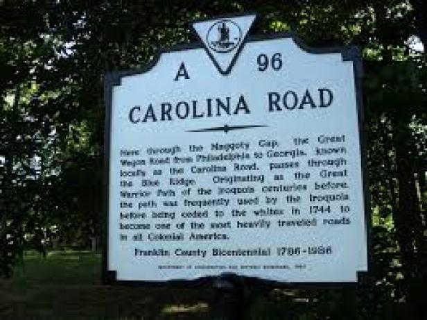 carolina wagon road