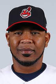 Edwin Encarnacion, now with the Cleveland Indians.