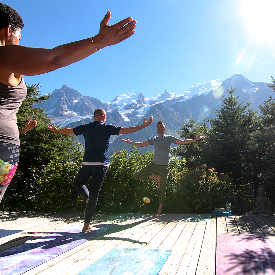 Europe, group, Yoga, Retreat, Chamonix, Mont Blanc, France, Luxury, Chalet, spa, hot tub, hiking, meditation, alps, wellness, mountain, travel, mountains, retreats, holistic, holiday, hike, walking, hikes, wellbeing, mindfulness, retreats
