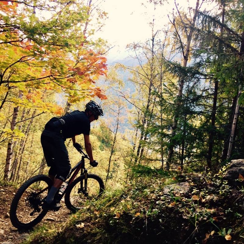 mountain biking chamonix yoga retreat mont blanc