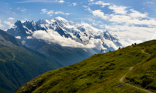 mountain biking chamonix yoga retreat mont blanc