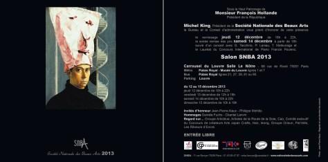Invitation to SNBA exhibition