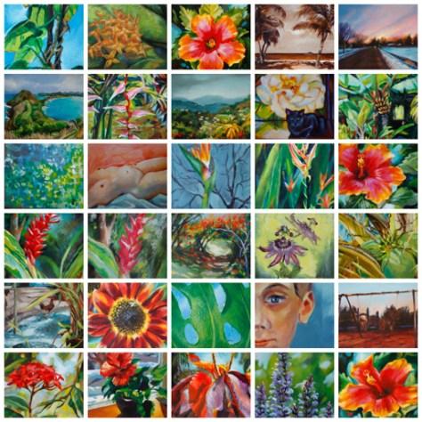 30 paintings in 30 days, Jan '14