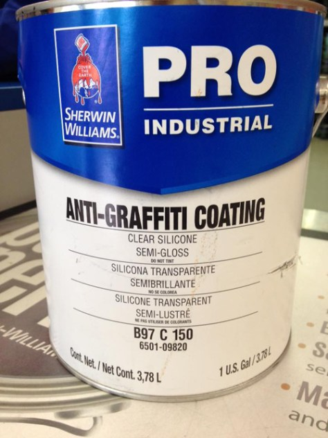 anti-graffiti coating