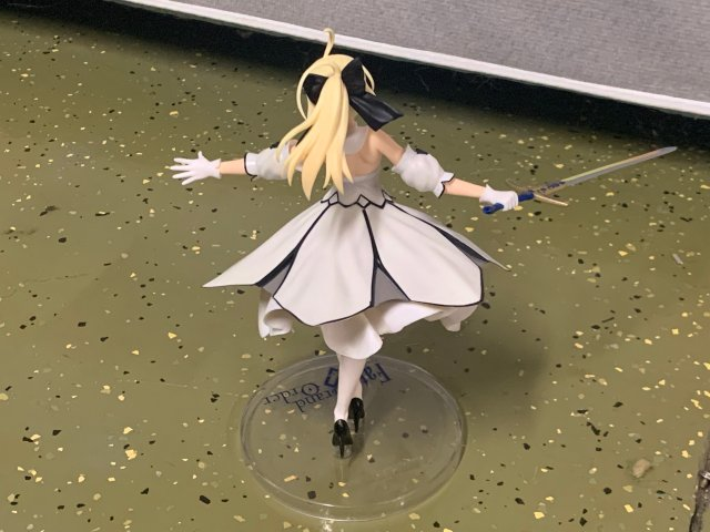 Fate Gand Order: Altria Lily Saber Figure Review!!