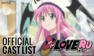 Dub cast for To LOVE-Ru